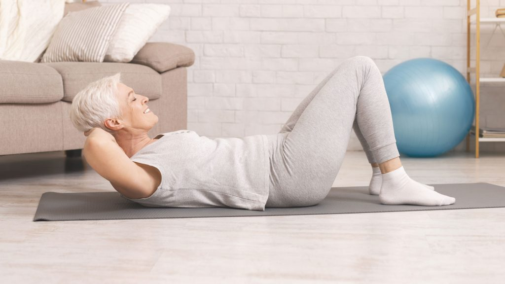 pilates classes for the over 50s